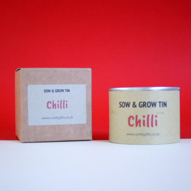 Chilli plant get well gift ideas for him UK delivery