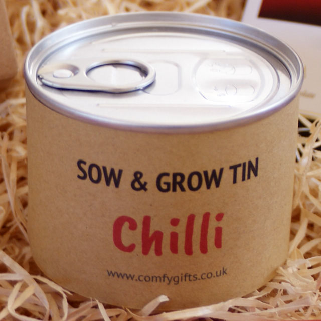 Grow you own chilli gift ideas for him UK delivery
