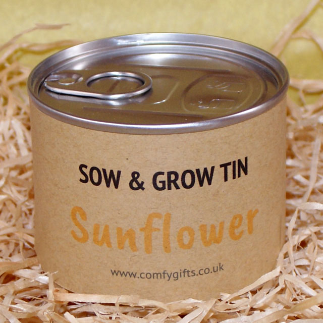 Grow your own sunflower kit for kids
