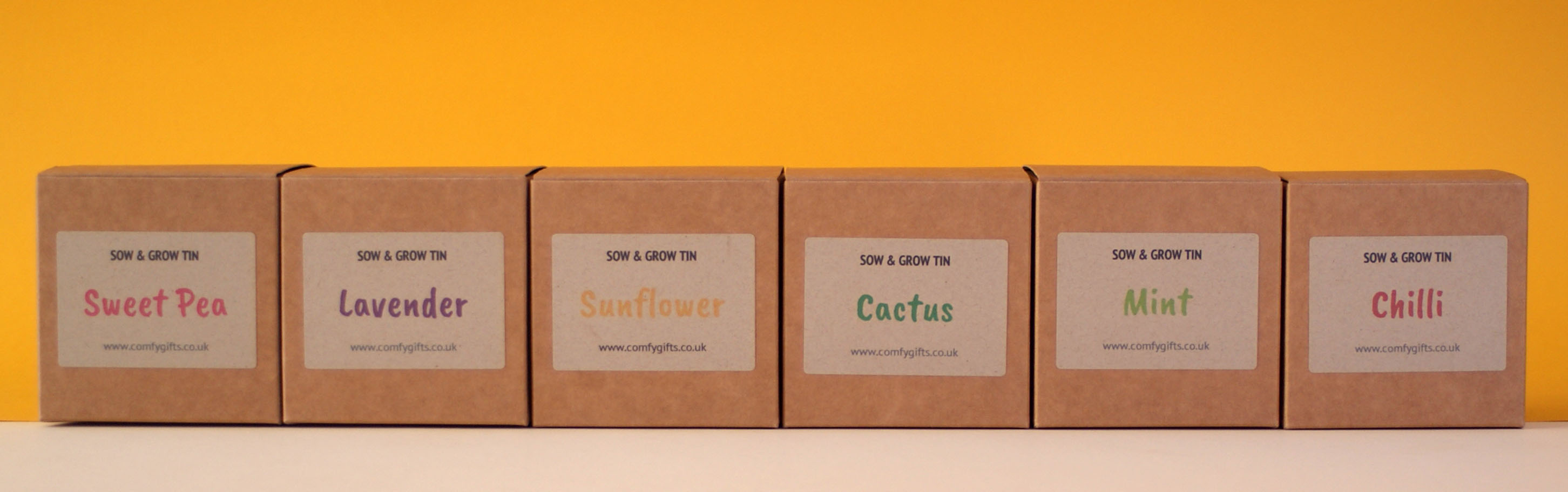 Sow & Grow Tins - fun grow your own gifts delivered